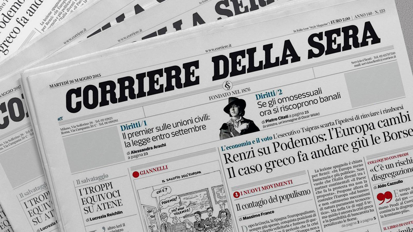 Corriere della Sera: Capelli e nuove tendenze. Intervista all' Hair Stylist Daniele Maisto